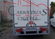 Cajas térmicas, carrocerías, cajas secas, cajas para transporte, reparación y venta de carrocerí