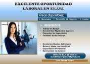Oportunidad laboral para hispanos en los eeuu