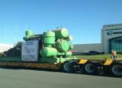 Servicio de transporte sobredimensionado