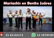 Mariachis en cdmx benito juárez t. 5585265123