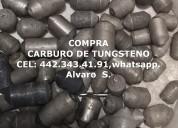 Compra de carburo de tungsteno