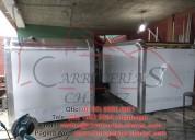 Carrocerías refrigeradas y secas, plataformas