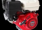 Motor a gasolina ohv marca honda modelo gx270 9.0