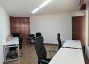 Renta de amplia y bella oficina en av. guadalupe