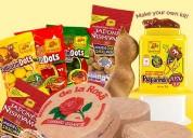 Embolse dulces tipicos desde csa