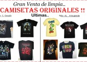 Camisetas originales gamers