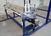 Maquina bondeadora pega fibra, eva, cartón etc.