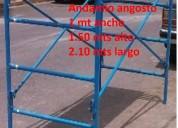 Andamio angosto (venta) 2.00x0.80 mt