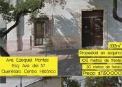 Casa en venta querétaro centro