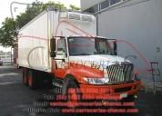 Somos fabricantes de carrocerías de refrigeración