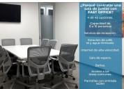 Sala de  junta equipada para tus cursos