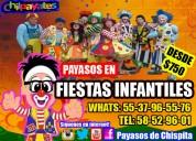 DinÁmicas payasos show alcaldÍa b.juarez