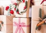 Arme cajas de navidad desde casa..