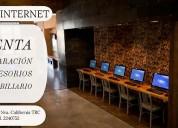 Todo para tu cafÉ internet aprovecha
