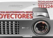 Renta de pantalla lcd y proyectores