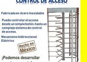 Puerta giratoria para control de acceso tojande