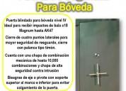 Puerta de seguridad para bóveda tojande