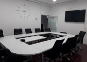 Renta salas  ejecutivas con servicio incluidos