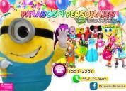 Show de payasos con minions para tu fiesta