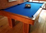 Accesible mesa de billar para tu hogar