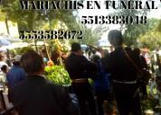 Mariachi alvaro obregón economico funeral urgentes
