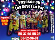 Premios show payasos en los reyes la paz