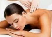 Masaje relajante $350 más de una hora