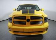Dodge ram 2016 amarilla