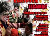 Premios show payasos en tecamac