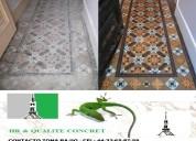 ReparaciÒn y restauracion de pisos mosaicos marmol