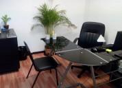 Oficina amueblada con todos los servicios