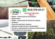 Nuestros servicios para ti ... epsa invernaderos