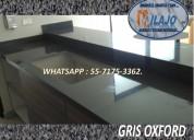 Cubierta para cocina en granito gris oxfor