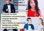 Cursos infantiles valores modales en mesa conducta