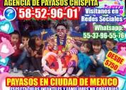 DinÁmicas show payasos alcaldÍa iztacalco
