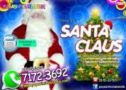 renta de santa claus para eventos navideÑos - cdmx
