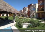 Casas con alberca en 3 niveles con roof garden