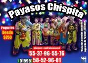 Magia chusca show payasos en ecatepec