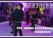 Mariachis en san francisco tepojaco tel::53582672