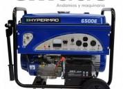 Generador hyperaq 6500w