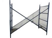 Cuerpos de andamio metalico para construccion