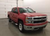 Chevrolet silverado rojo 2014