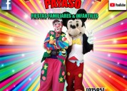 Comicidad show payasos en amecameca