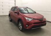 Toyota rav4 color rojo 2017