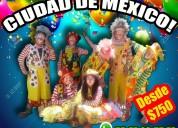 Payasos comicidad show alcaldÍa milpa alta