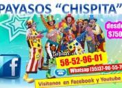 Comicidad show payasos alcaldÍa tlahuac