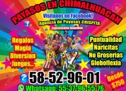 Premios show payasos en chimalhuacan
