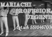 Mariachis en gustavo a.madero 5510467036