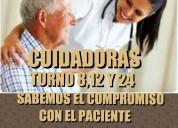 Servicios de cuidadores y enfermeras a domicilio