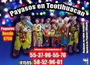 AlgarabÍa show payasos en teotihuacan